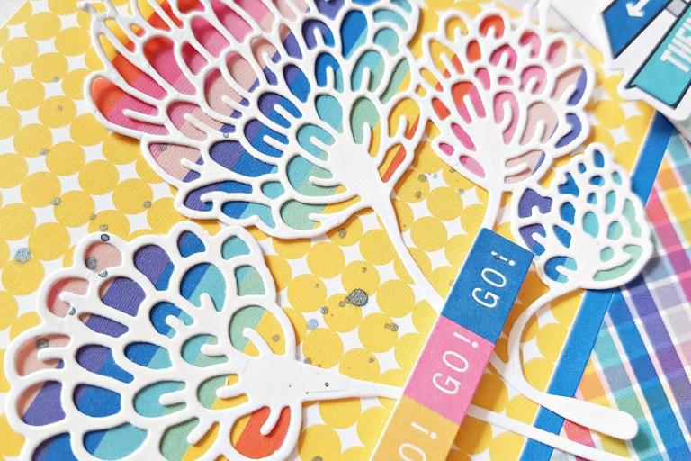 Spellbinders Jane Davenport Artomology   Colorful Mixed Media Cards with Zsoka Marko featuring JDD-003 Sea Flower, JDD-031 Mertail, JDD-033 Mermaid for Each Other, JD-031 Deep Sea Die Cutting and Embossing Machine #janedavenport #janedavenportartomology #Artomology #spellbinders #neverstopmaking #makeitwithmichaels #washisheets #dies #diecut #diecutting #diecutmachine #deepseadiecutmachine