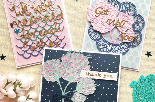 Spellbinders Jane Davenport Artomology | More Cardmaking Inspiration with Enza Gudor featuring JD-031 Deep Sea Die Cutting and Embossing Machine JDD-003 Sea Flower JDD-033 Mermaid for Each Other JDD-005 You are Unique JD-013 Washi Girls Washi Sheets JD-014 Washi Mermaids Washi Sheets PLP-003 Platinum Pack 3 S4-831 Get Well Soon Scalloped Circle
