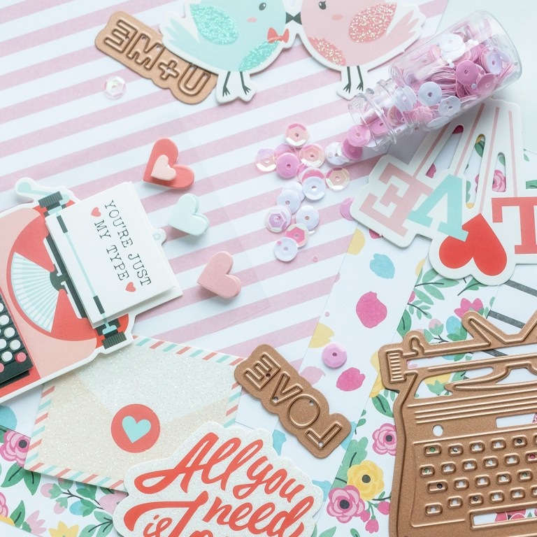 Coming Soon! January 2019 Card Kit of the Month - You're My Type. Unboxing Video