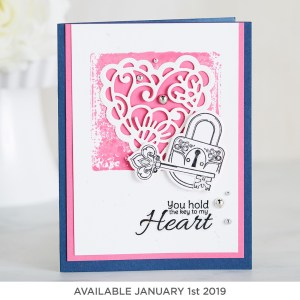 Stamp of the Month (available January 1st, 2019)