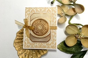 Glorious Glimmer Inspiration   Thank You & Just Because Foiled Projects with Tina Smith for Spellbinders. Video tutorial