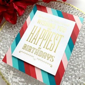 Spellbinders Glimmer Hot Foil Inspiration | Hot Foil Card Trio with Janette Kausen