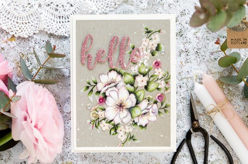 Video: Just Add Color Collection by Stephanie Low - Inspiration | Pencil Coloring on Kraft with Debby Hughes for Spellbinders