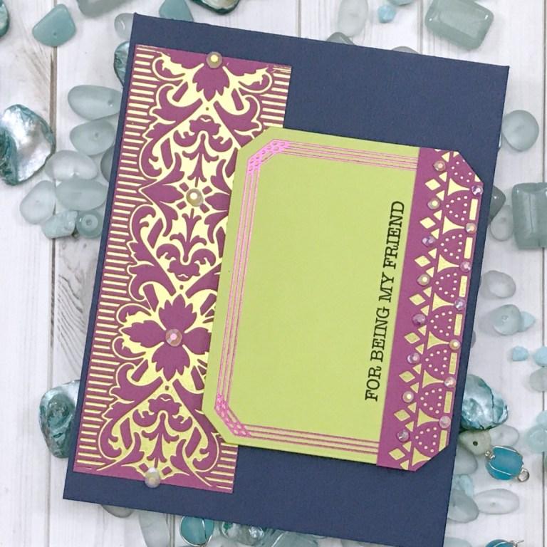 Video: The Gilded Age Collection by Becca Feeken Inspiration | Soft Victorian & Bold Regal Cards with Desiree Kuemmerle for Spellbinders