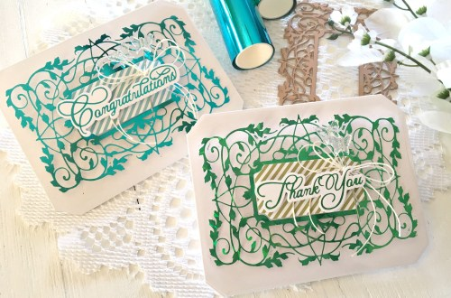 Video: The Gilded Age Collection by Becca Feeken - Inspiration | Foiled Thank You & Congratulations Cards by Tina Smith for Spellbinders