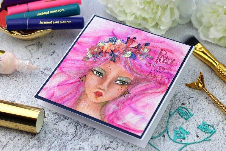 Jane Davenport NEW Artomology | My First Whimsical Girls by Bibi Cameron for Spellbinders