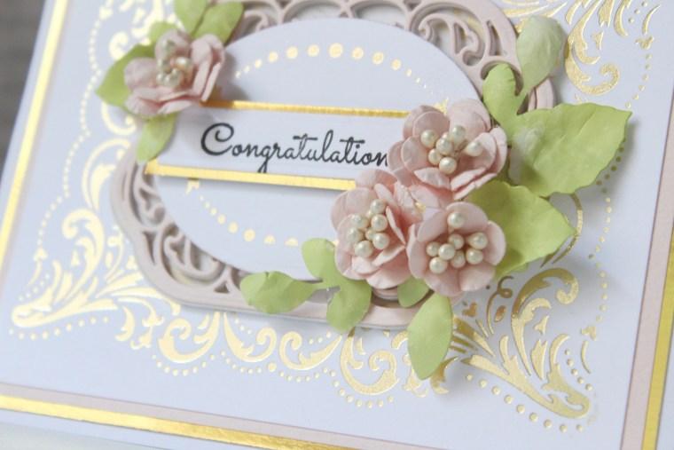 Royal Flourish Inspiration   Foiled Cards with Hussena
