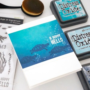 "Spellbinders July Clubs Inspiration Roundup - ""Age of Aquarium"" Stamp of the Month"