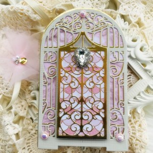 "Spellbinders July Clubs Inspiration Roundup - ""Graceful Concertina"" Amazing Paper Grace Die of the Month"