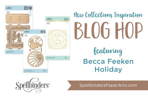 Becca Feeken 3D Holiday Vignettes & Glistening Holiday Blog Hop + Giveaway