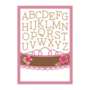 Spellbinders October 2019 Amazing Paper Grace Die of the Month is Here – One Kind Word Alphabet Collage