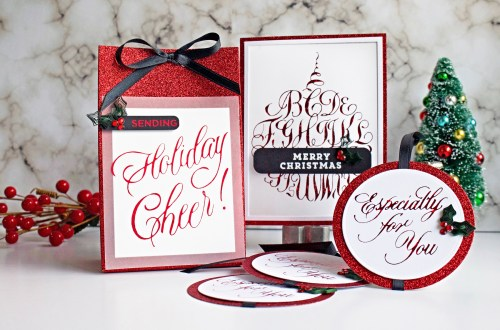 Spellbinders Paul Antonio Holiday 2019 Collection - Inspiration | Gift Giving Ideas with Niki Coursey