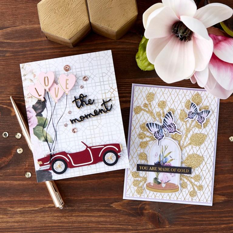 Spellbinders January 2020 Card Kit of the Month is Here – Love The Moment #SpellbindersClubKits #NeverStopMaking