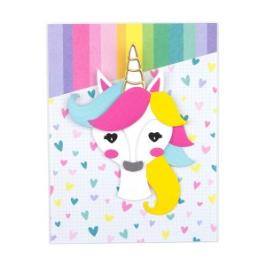 Spellbinders February 2020 Card Kit of the Month is Here – Unicorn Dreams