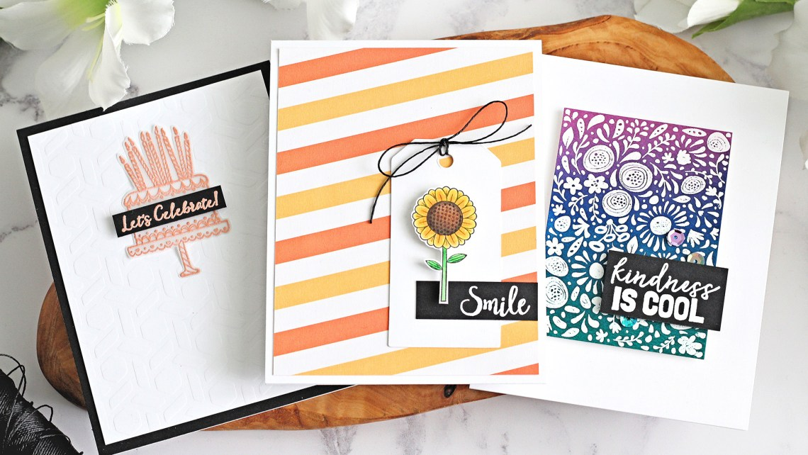 FSJ Kindness Matters   Clean & Simple Cards with Michelle Short   Video