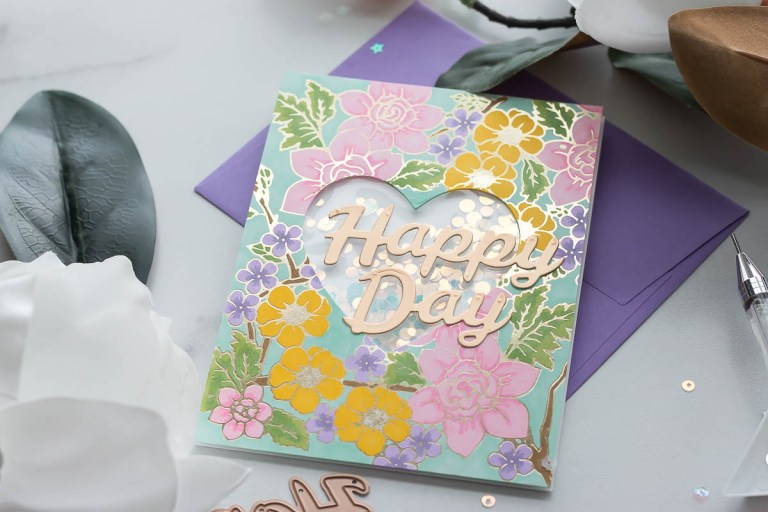 Spellbinders Bold Type Inspiration | Sentiment Dies 5 Ways with Marie Heiderscheit #Spellbinders #NeverStopMaking #DieCutting
