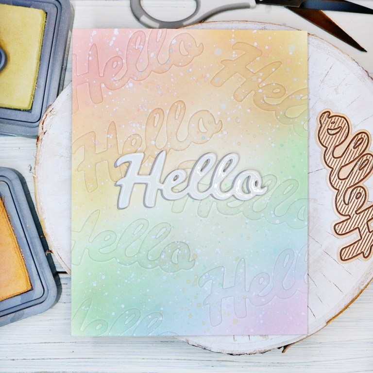 Bold Type Inspiration | Clean & Simple Cards with Cassie