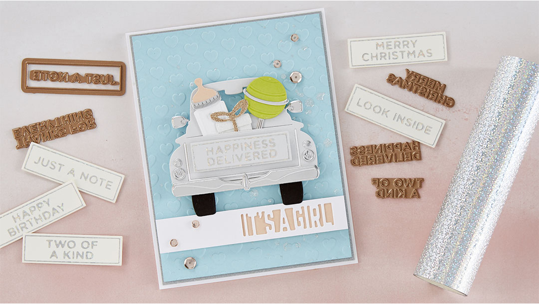 Spellbinders April 2020 Glimmer Hot Foil Kit of the Month is Here – Celebrate the Day #Spellbinders #NeverStopMaking #SpellbindersClubKits