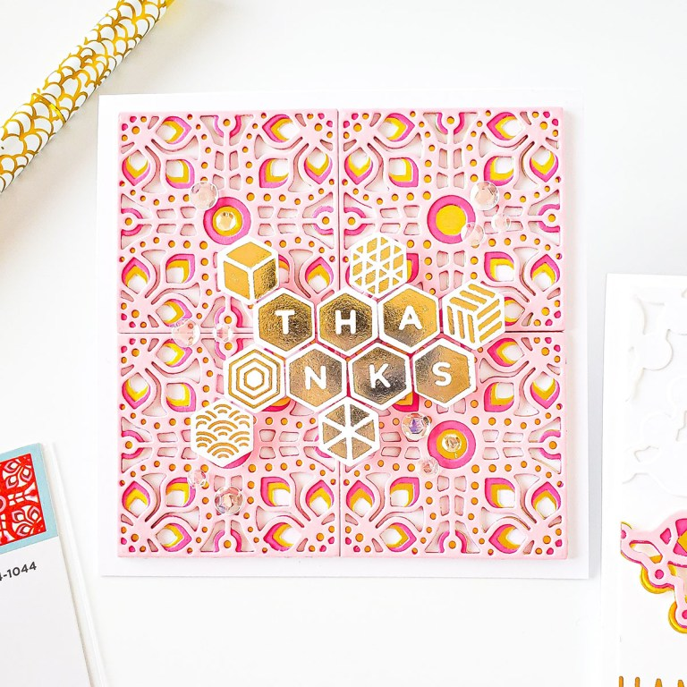 Spellbinders March 2020 Dies & Glimmer Plates┃Inspiration with Yasmin #Spellbinders #NeverStopMaking #DieCutting
