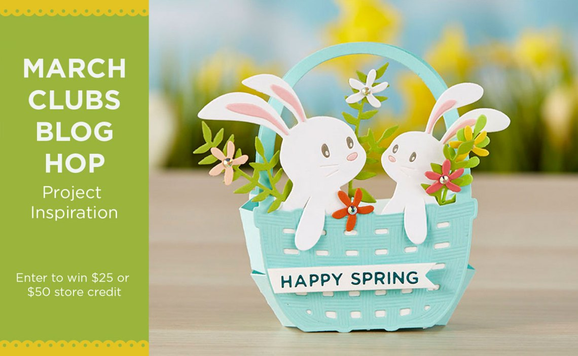 March 2020 Clubs Inspiration Blog Hop + Giveaways