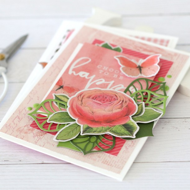 Spellbinders Dimensional Doilies Collection by Becca Feeken - Inspiration | One Die Set - Two Cards with Anya Lunchenko #Spellbinders #NeverStopMaking #DieCutting