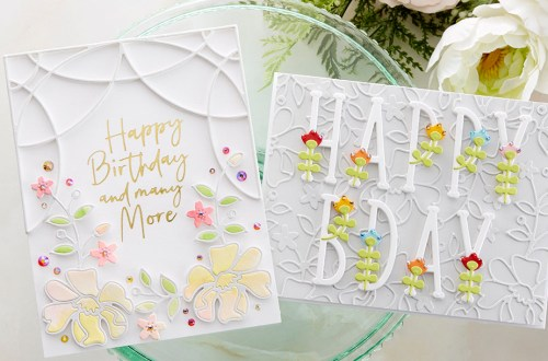 Spellbinders July 2020 Small Die of the Month is Here – Ornamental Floral Card Creator #Spellbinders #NeverStopMaking #SpellbindersCardKits #Cardmaking