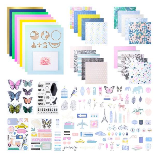 Spellbinders August 2020 Card Kit of the Month is Here – Around The World #SpellbindersClubKits #Spellbinders #NeverStopMaking #Cardmaking
