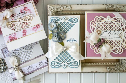 Spellbinders September 2020 Amazing Paper Grace Die of the Month is Here – Lattice Quadrante #Spellbinders #NeverStopMaking #AmazingPaperGrace #Cardmaking