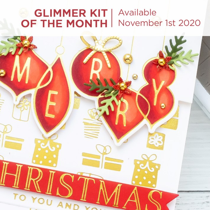 Coming Soon! November 2020 Clubs! Card Kit of the Month – Merry Wishes. Unboxing Video + New Club!