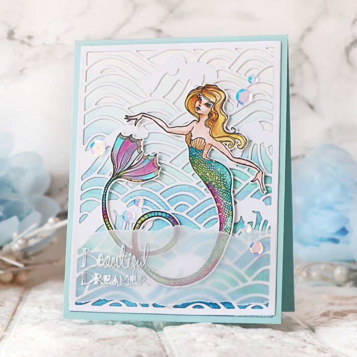 Spellbinders Stamp Camp Collection by Jane Davenport | Cardmaking Ideas with TaeEun Yoo #Spellbinders #NeverStopMaking #Cardmaking