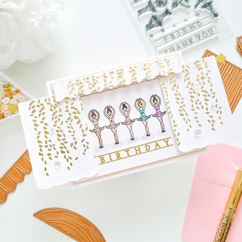December 2020 Clear Stamp of the Month is Here – Ballerina Sentiments