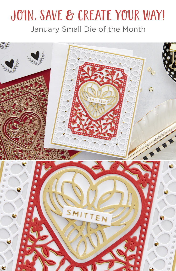 January 2021 Small Die of the Month Is Here – Lovely Card Creator