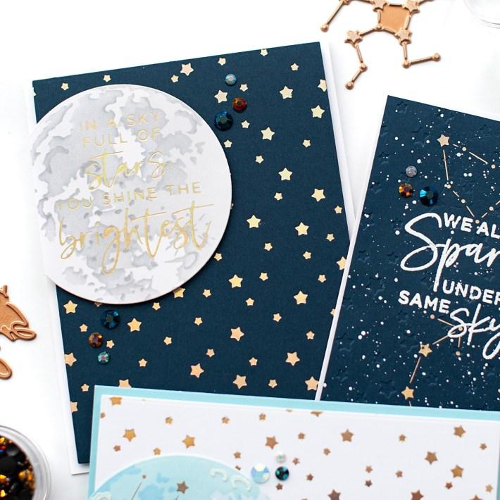Celestial Zodiacs Card Set