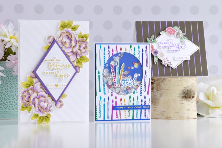 Yana's Blooming Birthday Collection | Card Inspiration with Annie Williams
