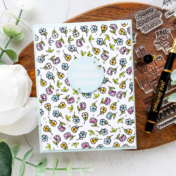 May 2021 Clear Stamp of the Month is Here – Borders & Sentiments