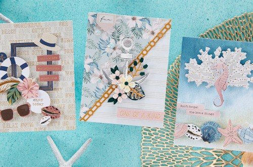 May 2021 Card Kit of the Month is Here – Beach Day