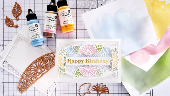 Ink Smooshing Plus Intricate Dies | Spellbinders Live