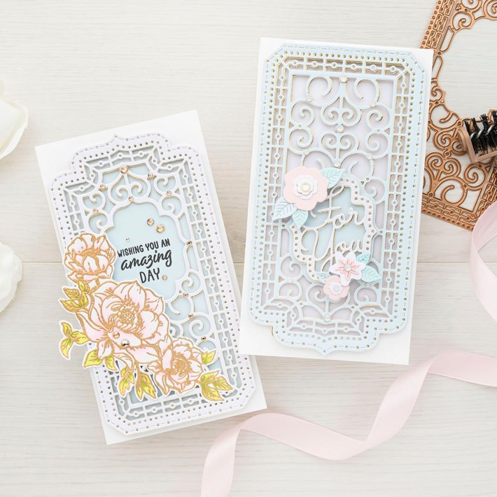 July 2021 Small Die of the Month Is Here – Decorative Mini Slimline Card Creator