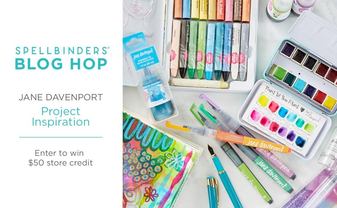 Jane Davenport Inspiration Blog Hop + Giveaways