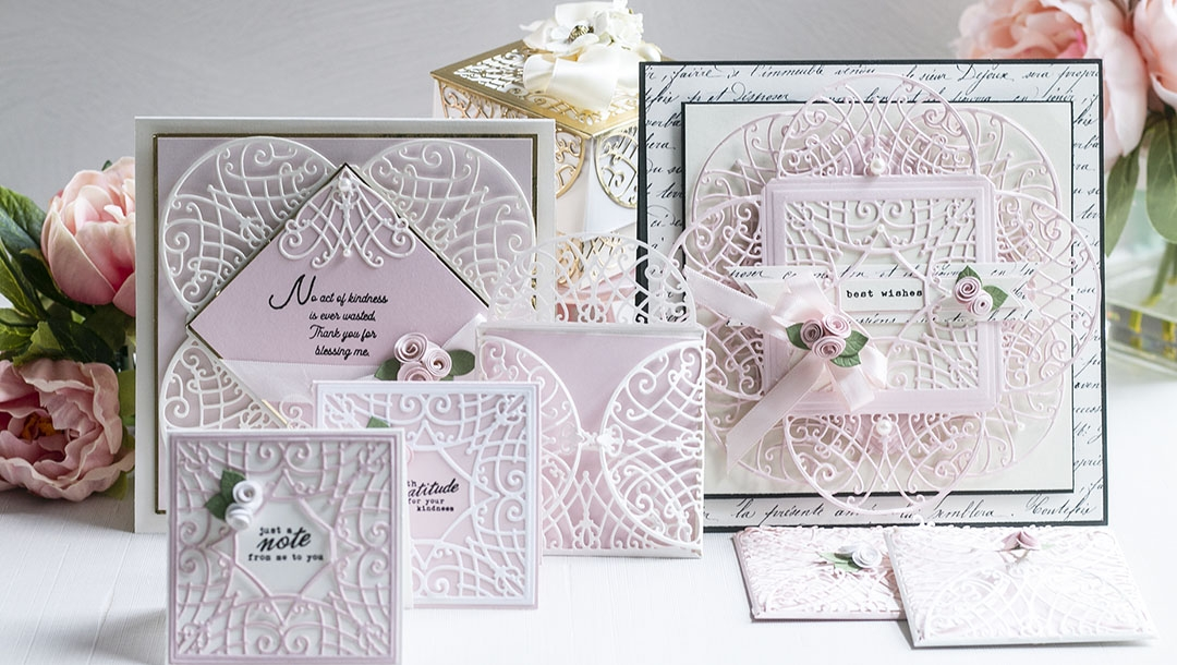 August 2021 Amazing Paper Grace Die of the Month is Here – Lattice Petal Foldover
