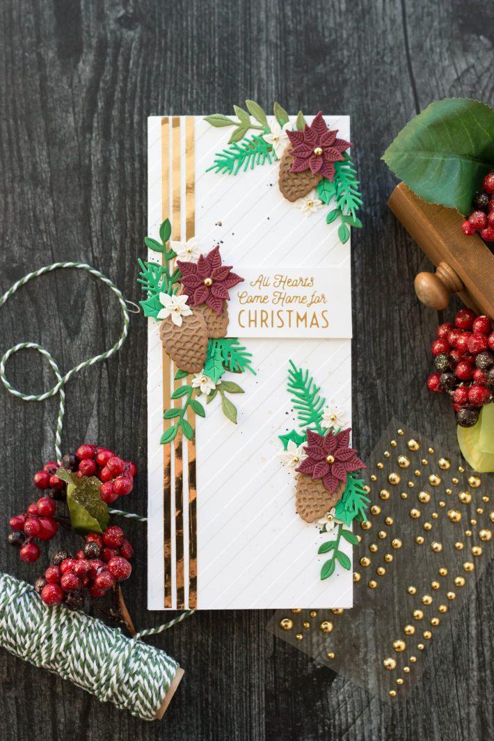 Christmas Slimline Inspiration with Marie Heiderscheit