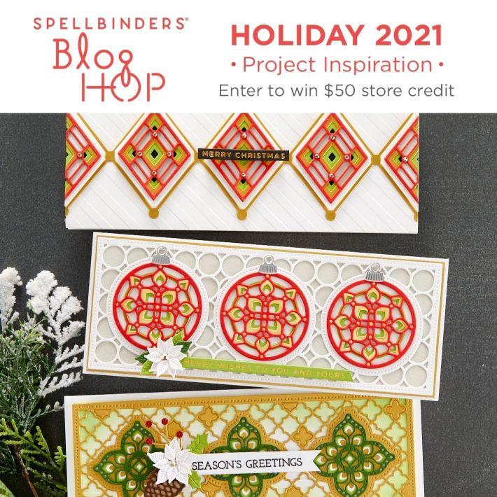 Holiday 2021 Inspiration Blog Hop + Giveaways
