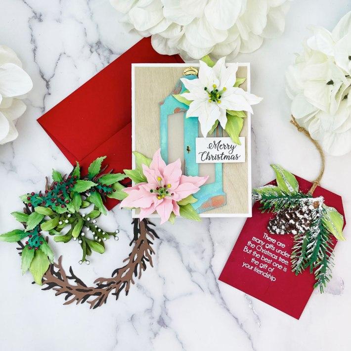 Christmas Card, Tag and Decoration with Joy Baldwin