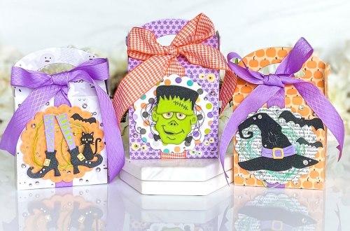 Halloween Favor Boxes with Laura Evangeline