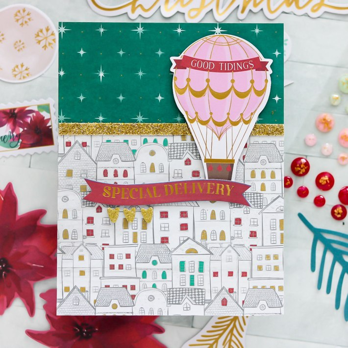 All Aboard Christmas Kit | Inspiration With Lisa Mensing