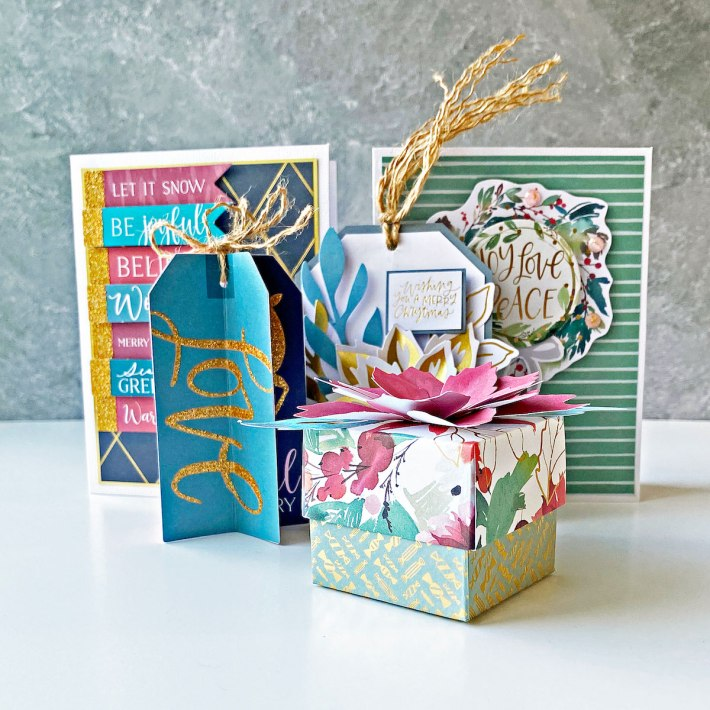 5 Projects You Can Make with the All Aboard 2021 Christmas Kit