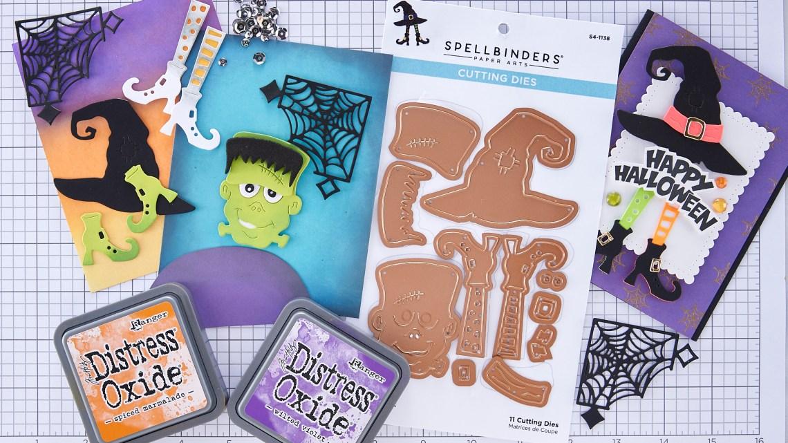 Let's Be Frank Two Cards One Die Set | Spellbinders Live