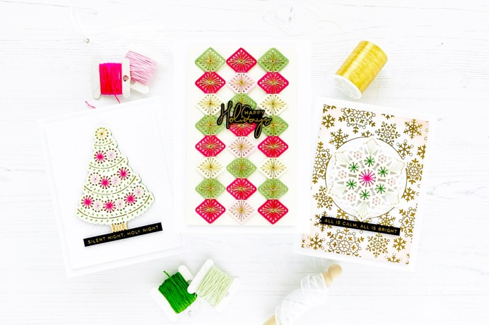 Merry Stitchmas Collection Inspiration with Caly Person