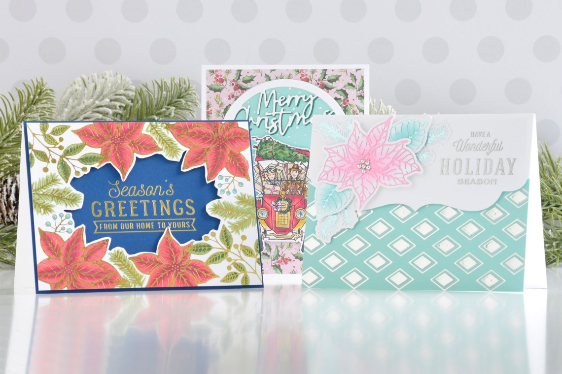 Christmas Traditions Collection – Card Inspiration with Annie Williams