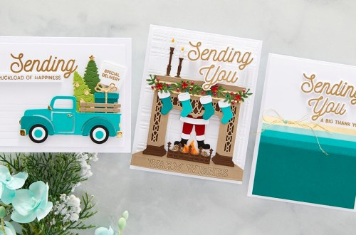 October 2021 Clear Stamp + Die of the Month Preview & Tutorials – Sending You